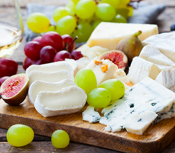 Photo of Fruit & Cheese Board
